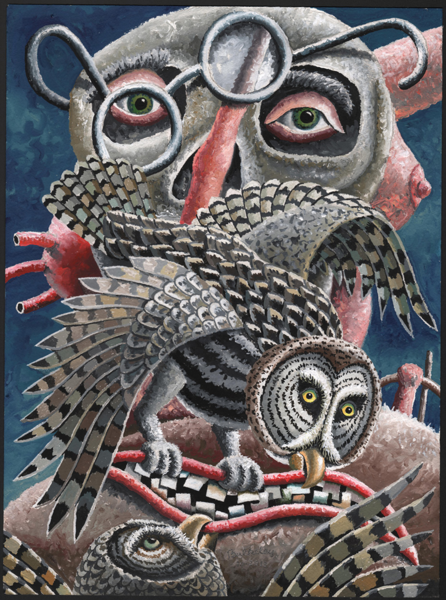 Book: Great-gray Owl, Barred Owl Mask